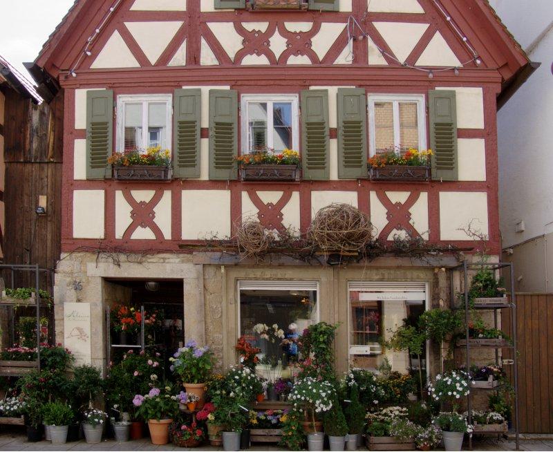 Blumenladen in Creglingen