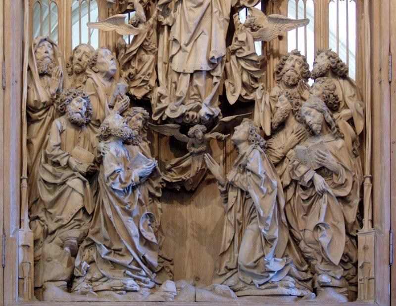 Der Riemenschneider Altar in der Herrgottskirche bei Creglingen