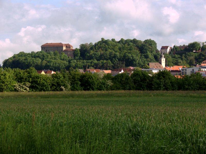 Blick zurück nach Schillingsfürst