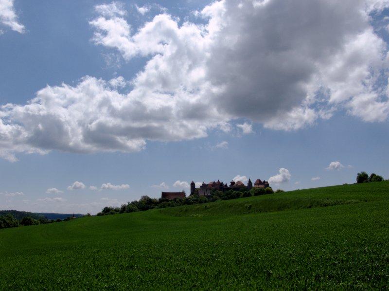 Blick auf die Harburg