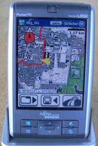FSC Pocket Loox N560 mit MagicMaps2go